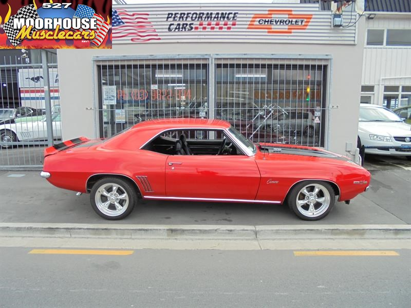 1969 CHEVROLET CAMARO | Moorhouse Muscle Cars ...